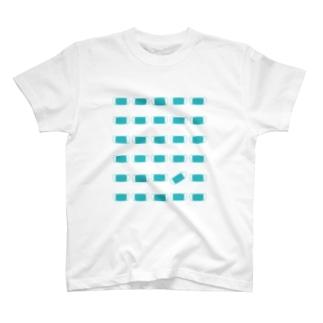 burnworks designのマスク(青) T-shirts