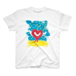 光ふりそそぐ T-Shirt