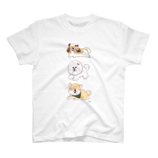 いぬいぬいぬ T-shirts
