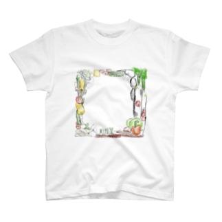 野菜祭祭 T-shirts