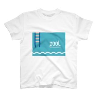 swim pool T-shirts