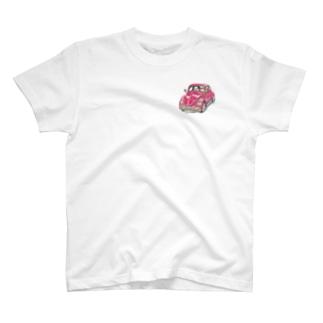 クラシックカー T-shirts