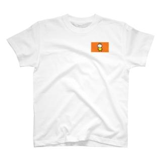 P国王オレンジ T-shirts