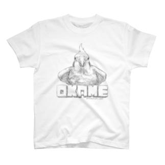 オカメインコ主張 T-shirts