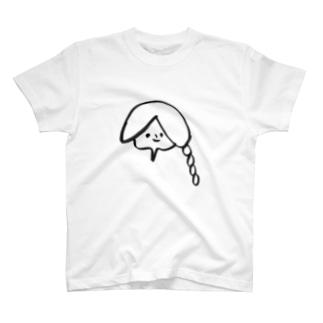 おさげの子 T-shirts