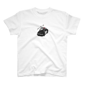 わりとおもいのニューヨークのパトカーではない ひかえめ T-shirts