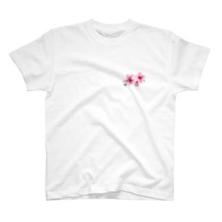 水彩のお花です。 T-shirts