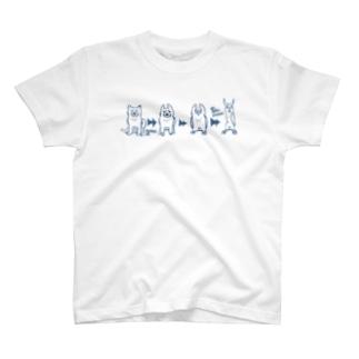 変遷(横向き) T-shirts