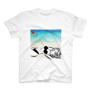 Black Bikini Lady T-shirts