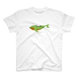 たべくじら *きうい* T-shirts