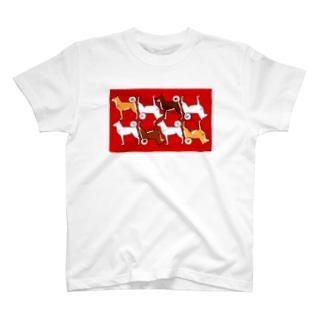 しば!シバ!犬!イヌ!! T-shirts