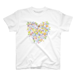 Floral Heart♡ T-shirts