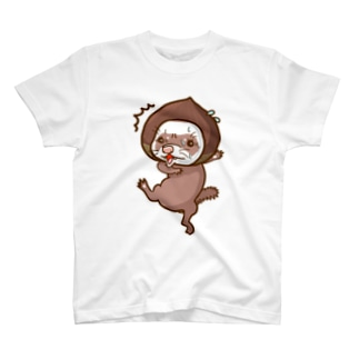 おろどきフェレット T-shirts