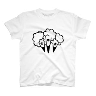 ムコウマツ T-shirts