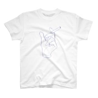 カラフルhand T-shirts