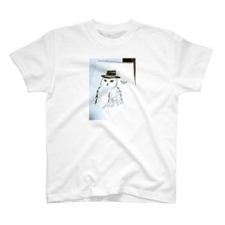snowy owl T-shirts