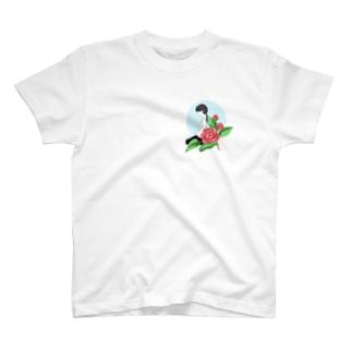 牡丹と武道少女 T-shirts