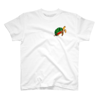 スイカメ T-shirts