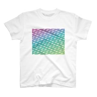 やすのレインボーワカサギ T-shirts