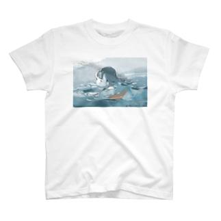 ザブザブ〜 T-Shirt
