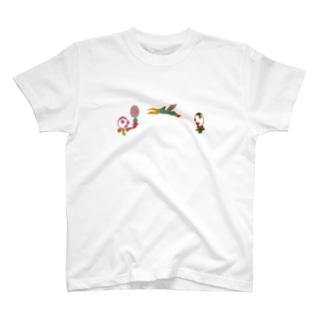 バ~ドミントン T-shirts