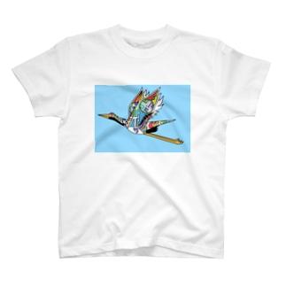 21 つる T-Shirt