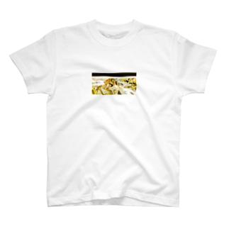 グリッチ_003c T-shirts