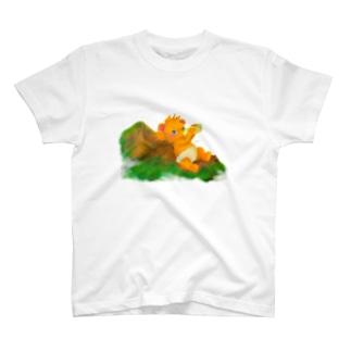 らぁのあのでっかい山のように T-shirts