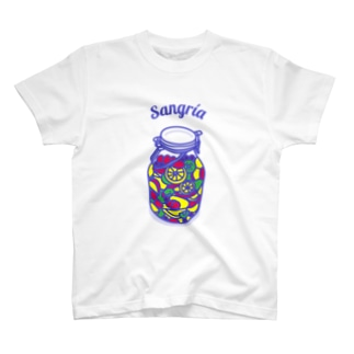 フルーツたっぷりサングリア T-shirts