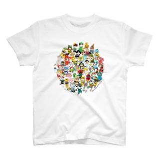 2018ヲカシなマリンクラブ集合 T-shirts