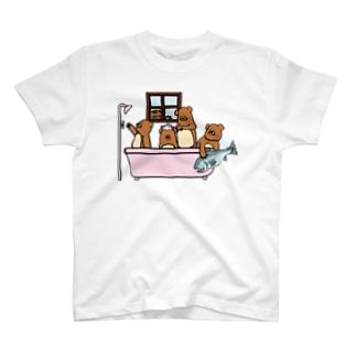 おふろくまさん T-shirts