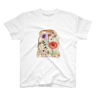 押し花トースト T-shirts