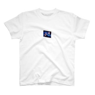 Acryl block T-shirts