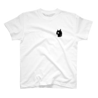まさやんひかえめシルエットTシャツ T-shirts