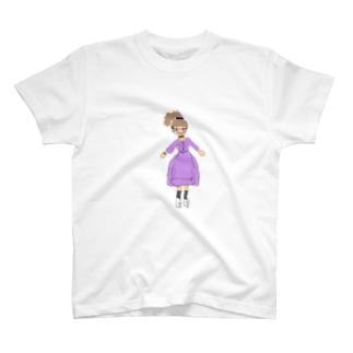 うすむらさきのおんな T-shirts