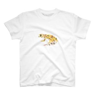 Echoes のLEOPARD GECKO  T-shirts