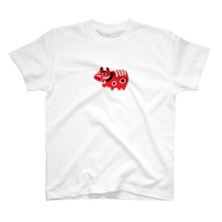 疫病退散!赤べこ T-shirts