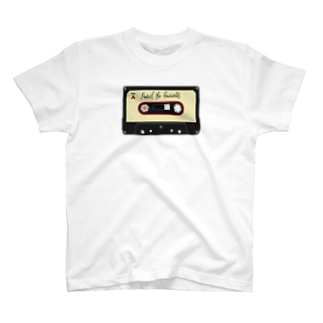 Cassette tape (A-side) T-shirts