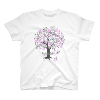 チェリーブロッサム・パンダ T-shirts