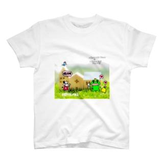 かえるの王子様街を散策☆ T-shirts