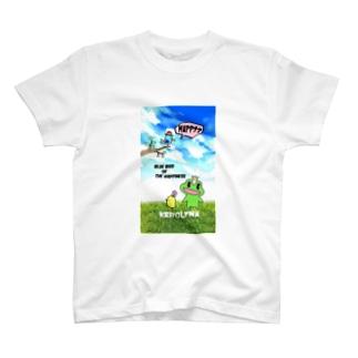 かえるの王子様と青い鳥 T-shirts
