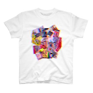 自販機コラージュ T-shirts