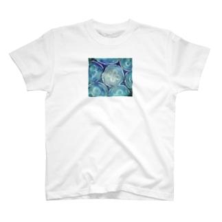 印象派ミズクラゲ・密 T-shirts