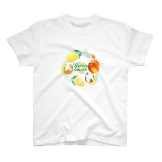 ねことはちみつレモン T-shirts