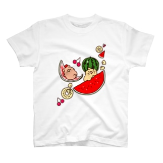 ぶぶあばくだものT T-shirts