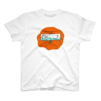 obake in the natsu T-shirts