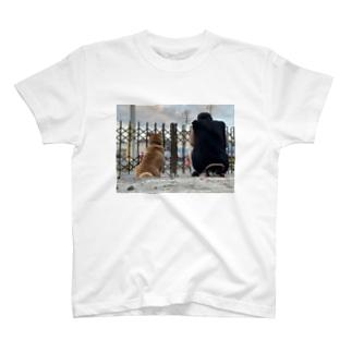 語れる背中 T-shirts