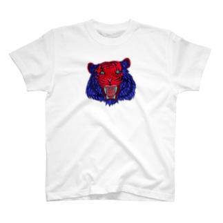 FIELD EDGE.のトラ T-shirts