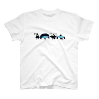 フウチョウコンビ T-shirts