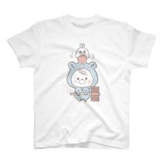 くまぽこガタガタ(そっ) T-shirts